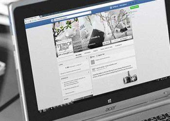 annoncering på sociale medier som facebook