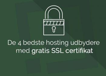 gratis ssl certifikat unoeuro